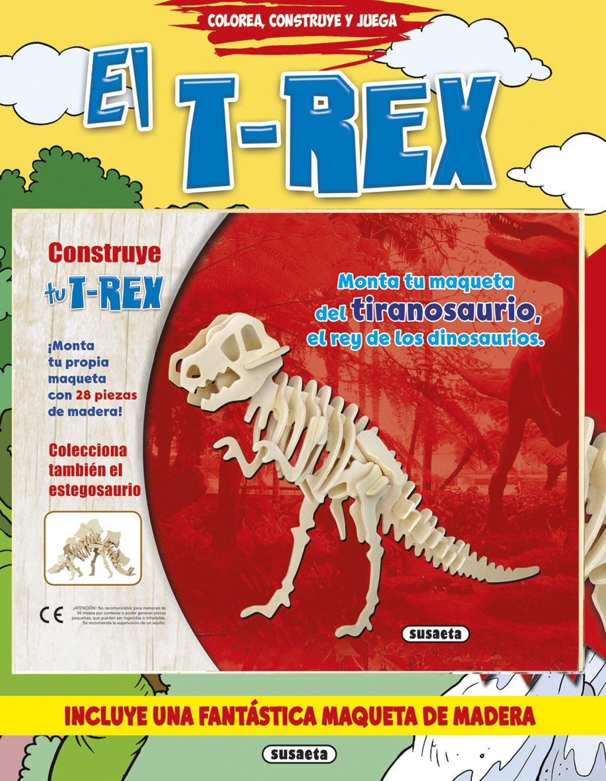 T-REX, EL.(COLOREA, CONSTRUYE Y JUEGA).(REF:3264-02 ...