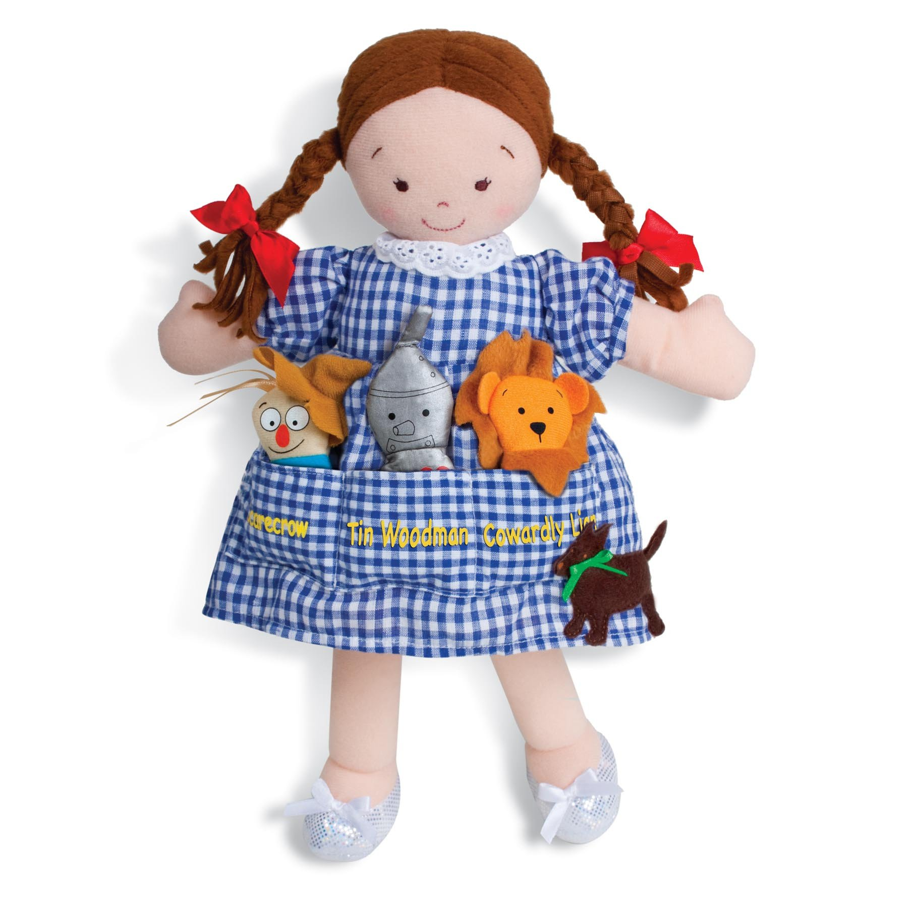 North American Bear Dolly Pockets The Wonderful Wizard of Oz Plush