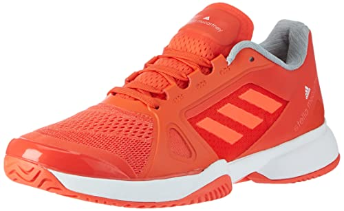 huge discount 13a8c 3f8d7 adidas Womens Barricade 2017 Tennis Shoes, (Blaze OrangeFTW WhiteSolar  Red