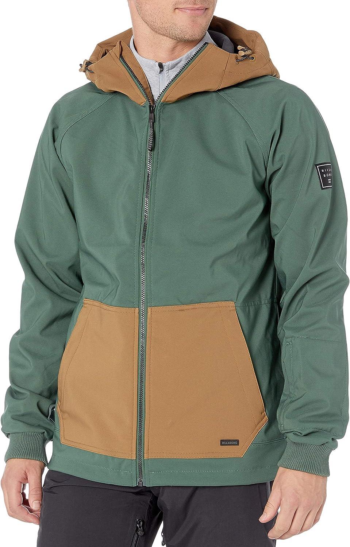 Billabong mens Downhill Softshell Snowboard Jacket: Clothing