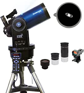 Meade Instruments – ETX125 Observer – 127mm Aperture Maksutov-Cassegrain (MAK) Computerized GoTo Astronomy Telescope with AudioStar 30,000+ Object-Database & Guided Audio Tours - EQ Plate Tilt Plate