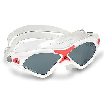 1ea6933d6e1 Aqua Sphere Seal XP Smoke Lens Swim Mask, White/Coral, Goggles - Amazon  Canada