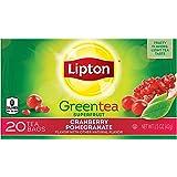 Lipton Green Tea Superfruit, Cranberry Pomegranate 20 ct