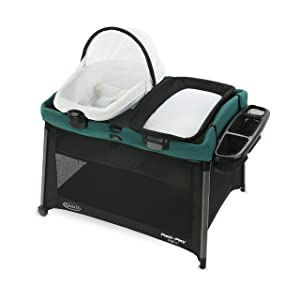 Graco Pack 'n Play FoldLite Playard | Lightweight Travel Pack 'n Play with Easy, Compact Fold, Remi