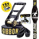 Gibbon Slacklines - Jibline, Black, 49-Feet