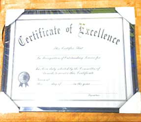 5 pk Certificate Frame 11 inch,14 inch with Certificate