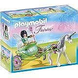 Playmobil Hadas - Carruaje con unicornio con Hada Mariposa (5446)