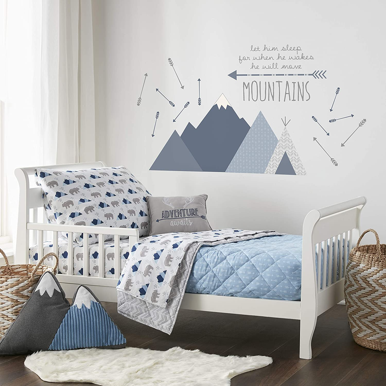 Levtex Baby Trail Mix 5pc Blue, Toddler Set