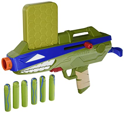 Teenage Mutant Ninja Turtles T-Blasts Shell Cannon Leonardo Talking Blaster