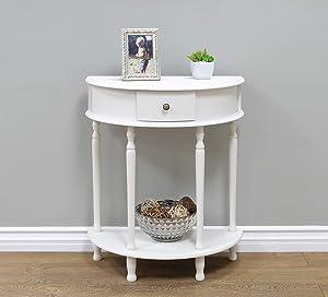 Frenchi Furniture Frenchi Home Furnishing Side table, White