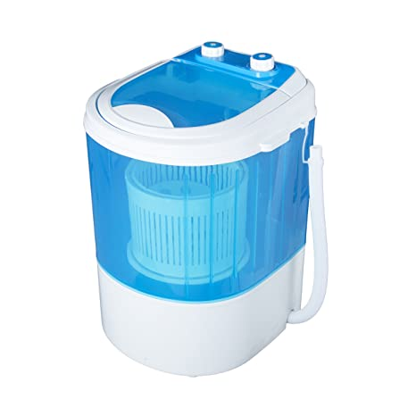 Vetronix Vmwm2003 Plastic 3 Kg Portable Mini Washing Machine With Dryer Basket (Blue)