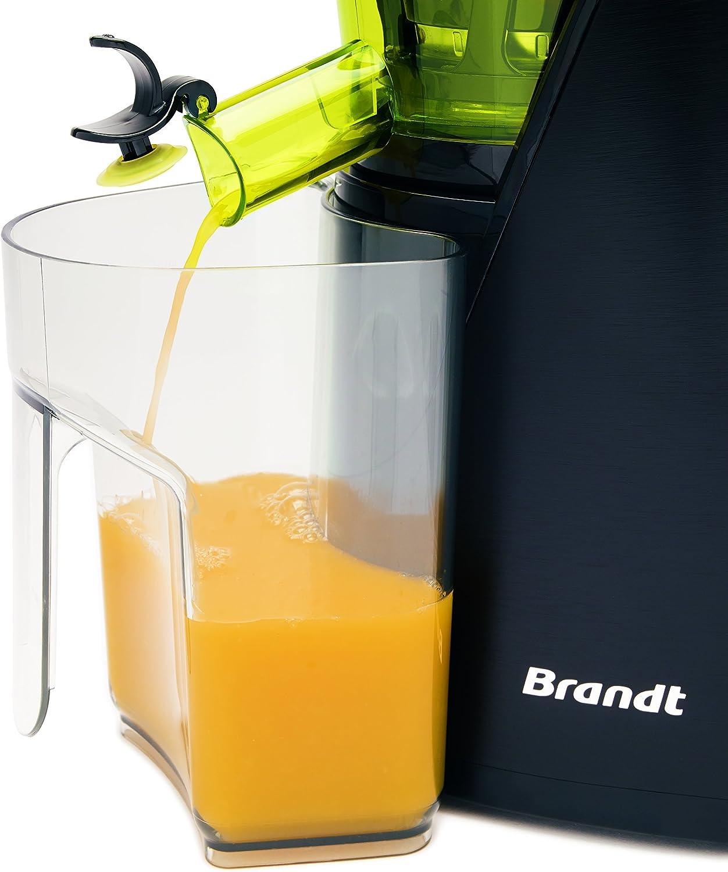 Brandt SLJ200 - Exprimidor (Exprimidor, Negro, Verde, 67 RPM, 1 L ...