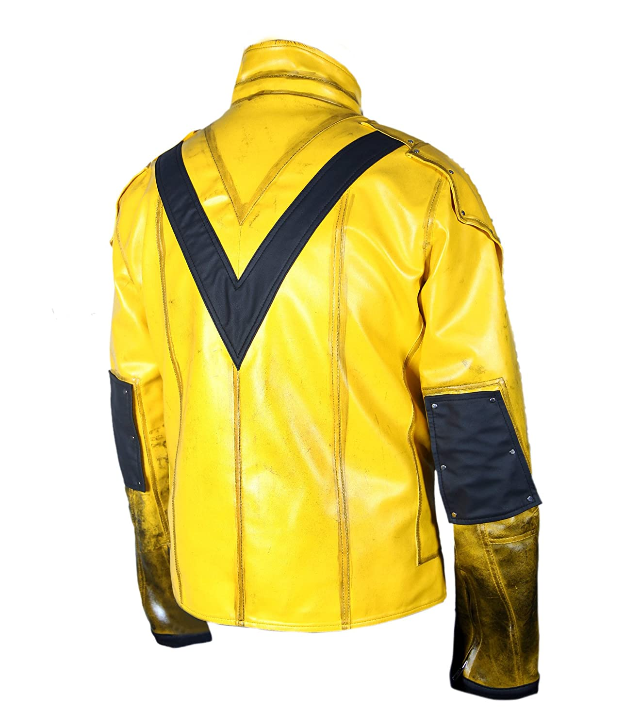 F/&H Kids Reverse Flash Eobard Thawne Zoom Yellow Lightning Jacket FH03273KC