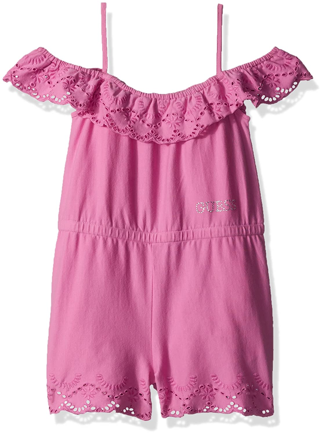 GUESS Girls Big Lace Romper