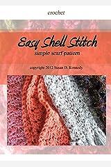 Susan's Easy Shell Stitch Scarf Pattern