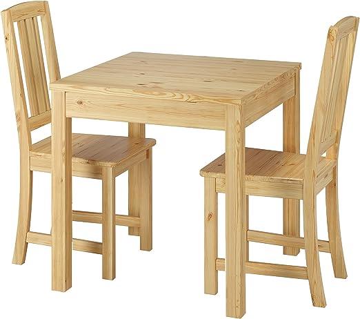 : Stilvolle kleine Essgruppe mit Tisch und 2 Stühle