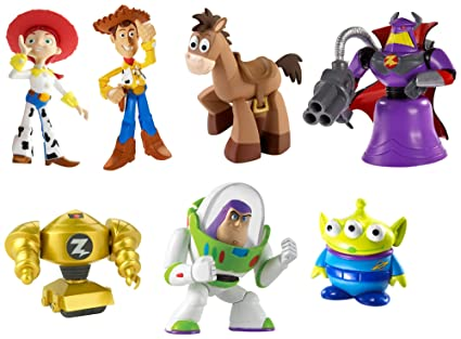 Mattel Disney Pixar Toy Story 20th Anniversary Als Barn Buddies 7 Pack Gift