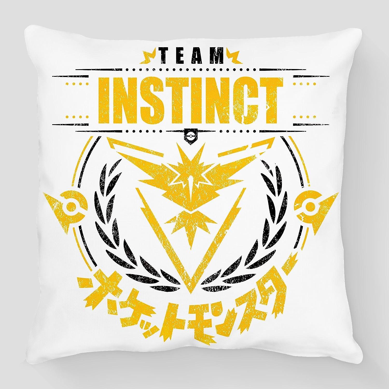 Cojín Pokémon Go Team Instinct/Intuition, Equipe amarillo ...