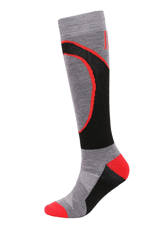 Andorra Mens High-Performance Merino Wool Ultra Light Pattern Socks