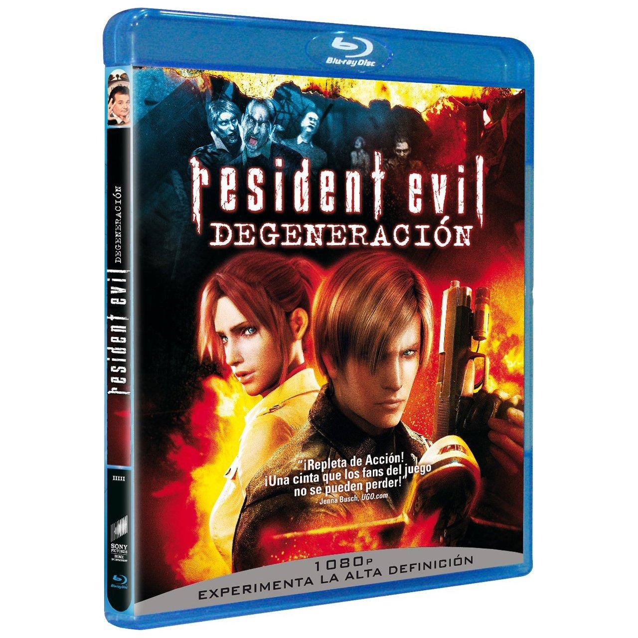 Resident Evil:Degeneracion - Bd [Blu-ray]: Amazon.es: Varios ...