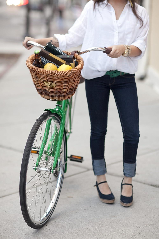 Cisco Adult Rectangle Basket Cycle Force Group B//006//C Nantucket Bike Basket Co