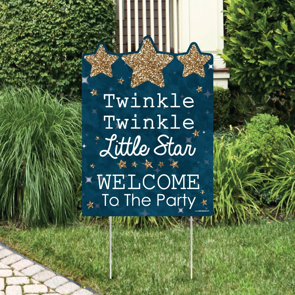 Amazon.com: Twinkle Twinkle Little Star - Party Decorations ...