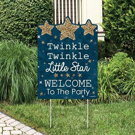 Amazon Big Dot Of Happiness Twinkle Little Star