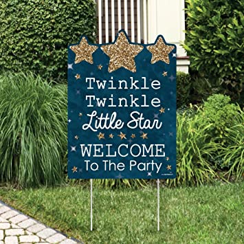 Amazoncom Twinkle Twinkle Little Star Party Decorations