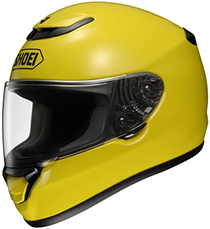 Shoei Qwest Brilliant Yellow Full Face Helmet - Medium