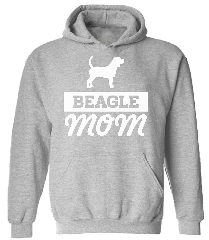 Pekatees Beagle Mom Hooded Sweatshirt Beagle Dog Mom Hoodie Funny Dog Mom Gifts