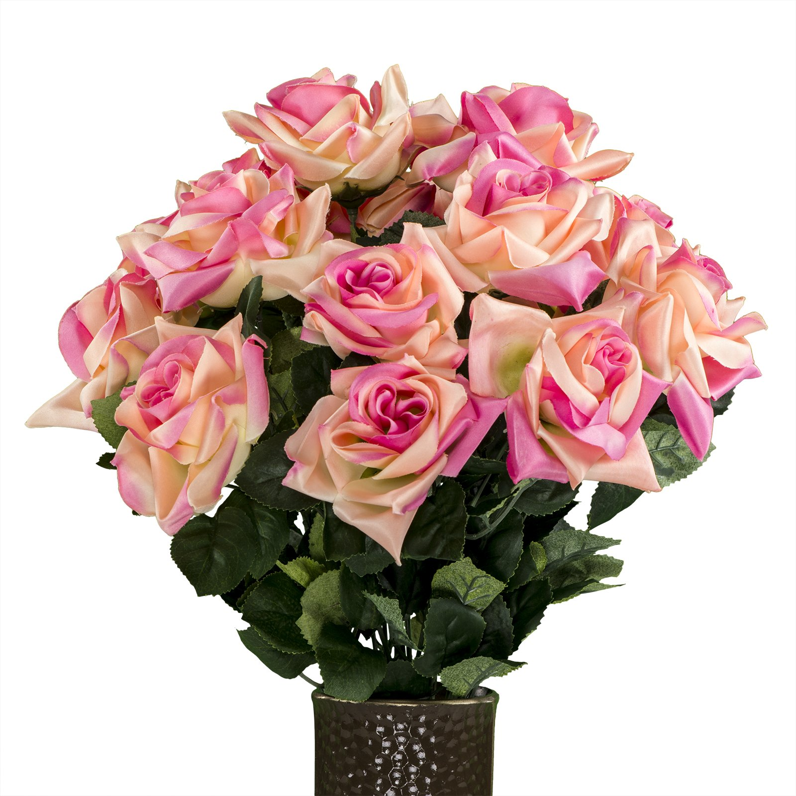 Beauty-Diamond-Rose-Artificial-Bouquet-featuring-the-Stay-In-The-Vase-Designc-Flower-Holder-MD1344