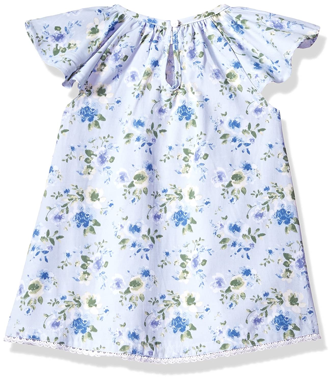 9a21d01cbd2 Amazon.com  Mud Pie Baby Girls Floral Smocked Flutter Sleeve Casual Dress  with Bloomers  Clothing