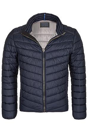 cb3684e040eb Michaelax-Fashion-Trade Calamar - Leichte Herren Steppjacke in Dunkelblau  oder Schwarz (6Y05