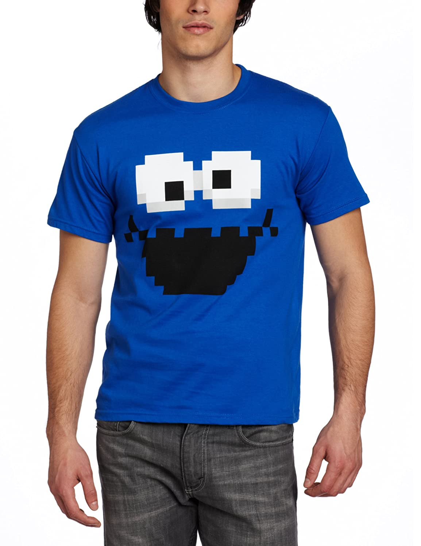 Mad Engine Men's Cookie Pixel T-Shirt