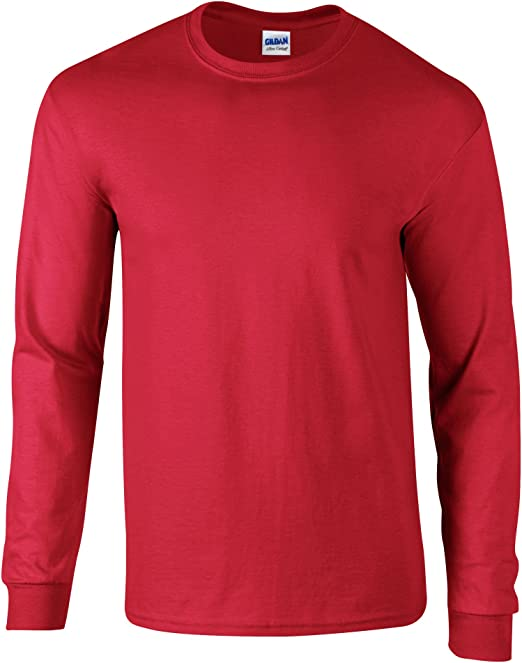 Gildan Ultra Cotton L/Sleeve tee Camiseta para Hombre