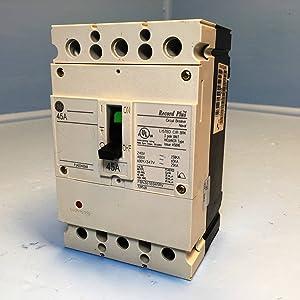 GE FBN36TE045RV 45A Record Plus FB Circuit Breaker 480V 45 Amp General Electric