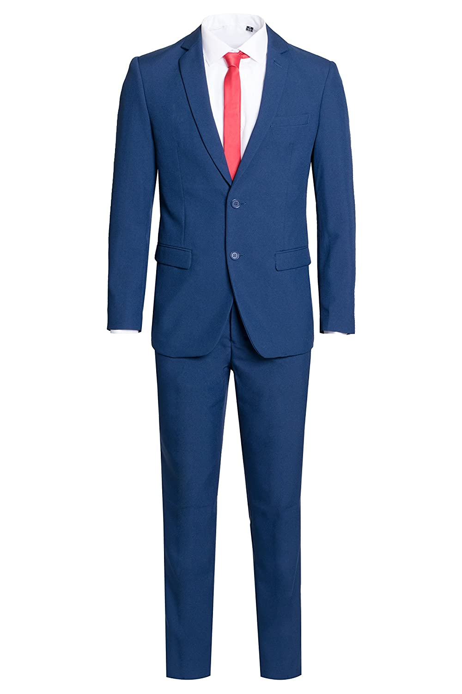 King Formal Wear Men's Dapper Two Piece Modern Fit Suit-Many Colors…