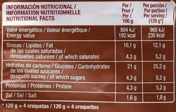 Gourmet - Croqueta De Pollo - 500 g: Amazon.es: Alimentación ...