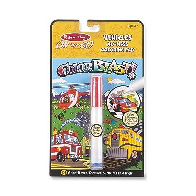 Melissa & Doug ColorBlast! - Vehicles: Toys & Games