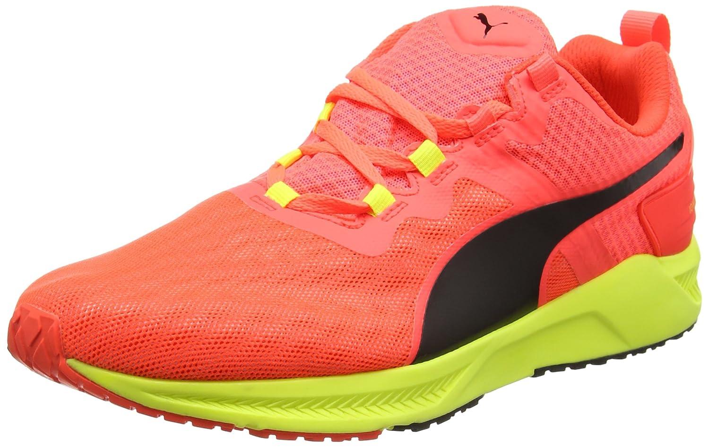 Puma Unisex-Erwachsene Ignitextv2f6 Leichtathletikschuhe  38 EU|Rot (Red/Yellow 02red/Yellow 02)