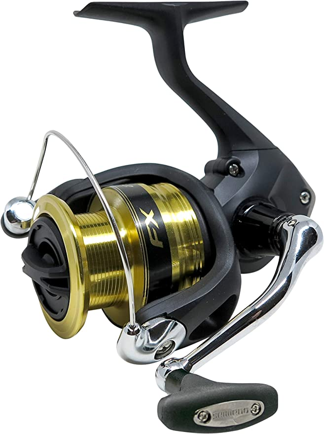 SHIMANO FX Spinning Fishing Reel, Gear Ratio 6.2:1: Amazon.es ...