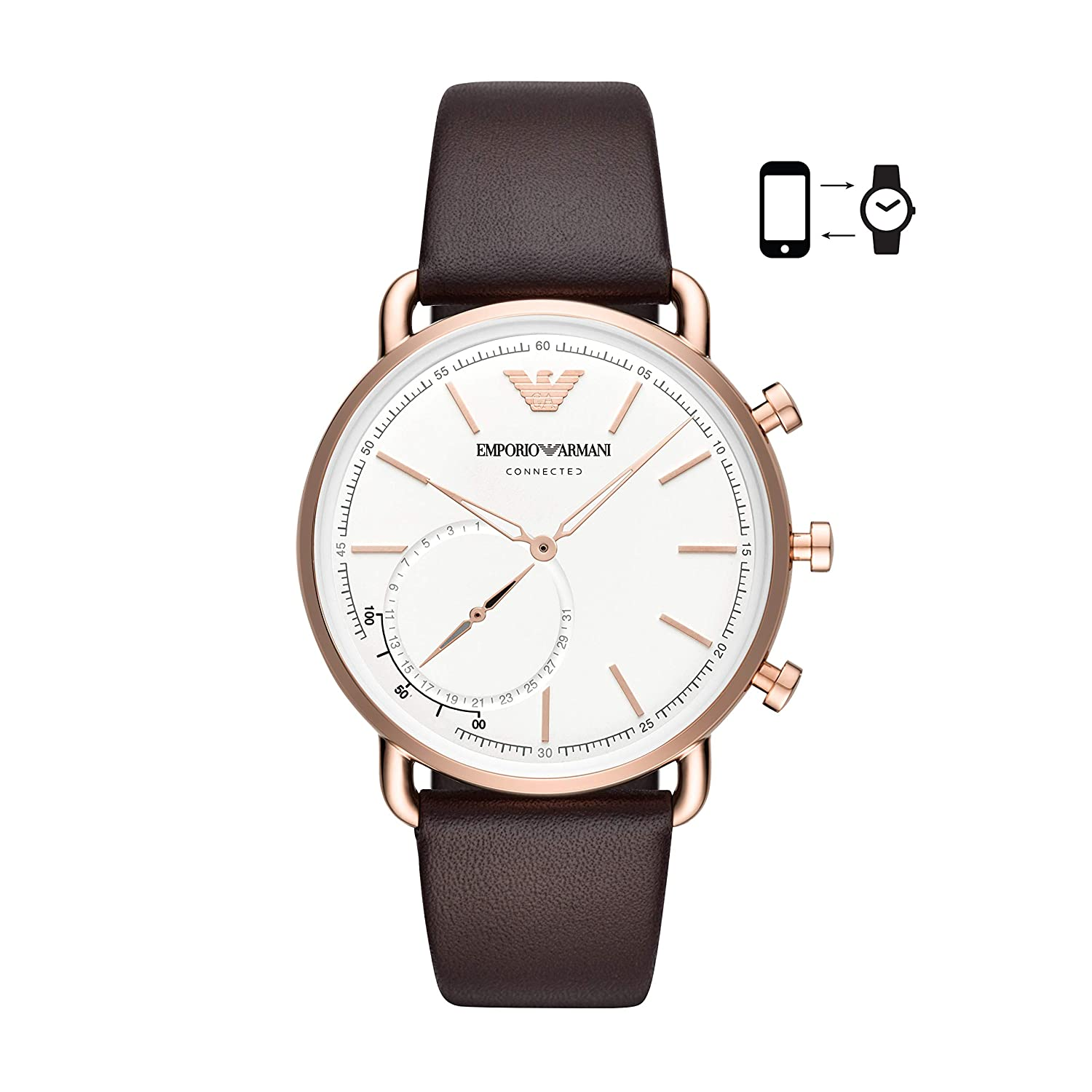 9327814f Amazon.com: Emporio Armani Dress Watch (Model: ART3029): Watches