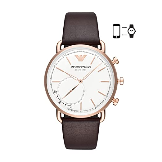 Emporio Armani Connected Men s Watch Hybrid Smartwatch ART3029   Amazon.co.uk  Watches e0e1f6f5ac3