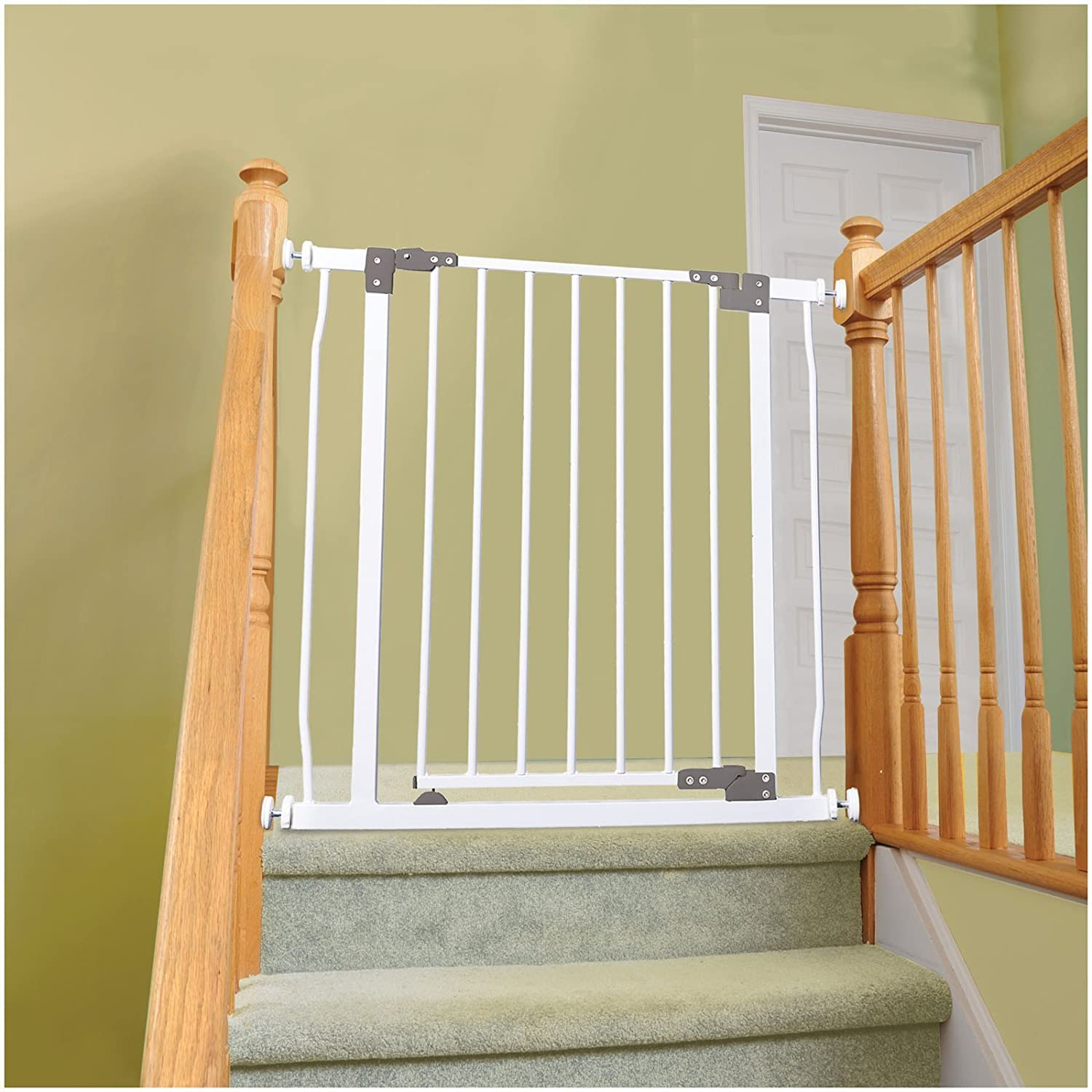 Amazon.com : Dreambaby Liberty Security Gate W/ Stay Open Feature  White :  Indoor Safety Gates : Baby