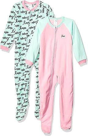 Amazon.com: Gerber Baby Girls' 2-Pack Blanket Sleeper: Clothing