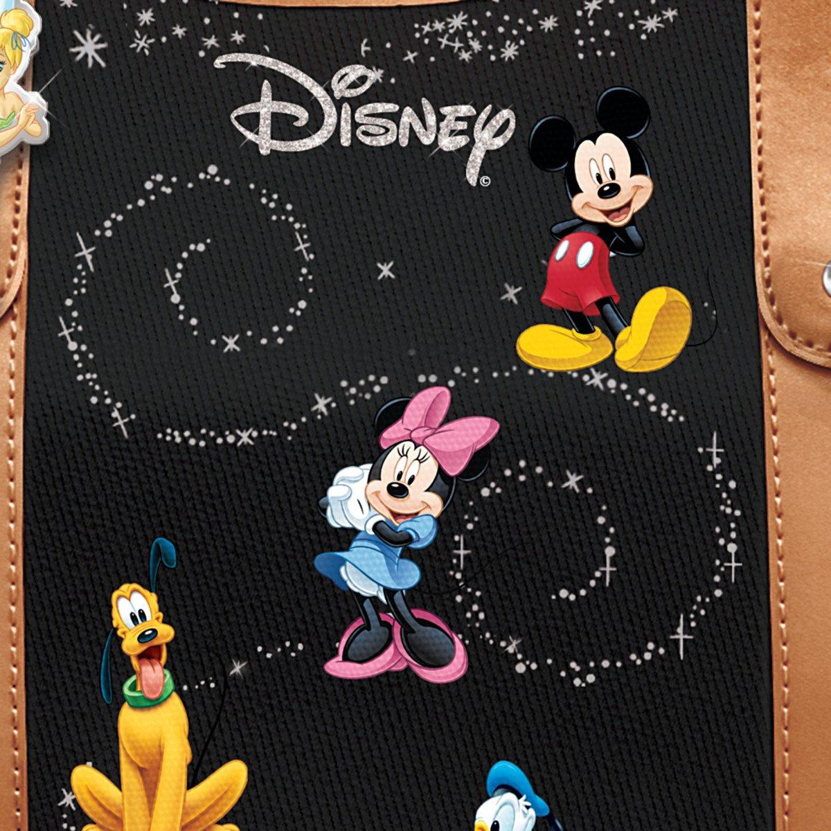 The Bradford Exchange Disney Handbag With Character Art And Tinker Bell Charm 01-23435-001