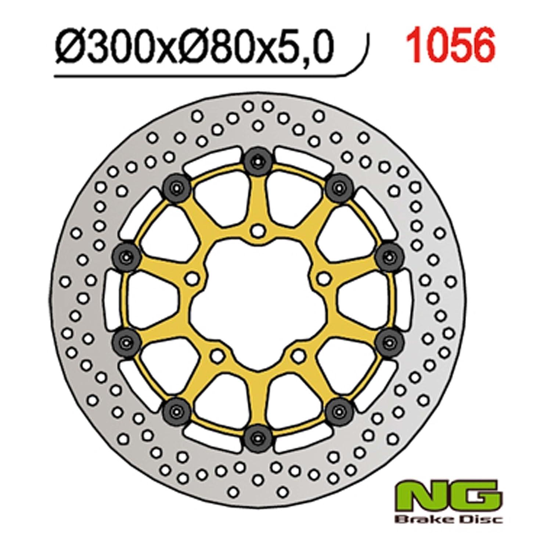 Disco de Freno NG Flotante Kawasaki ZX 600, Z 750, Z 1000 ...