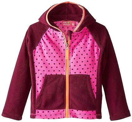 b9296211cea8 Pink Platinum Little Girls  Toddler Dotted Fleece Jacket