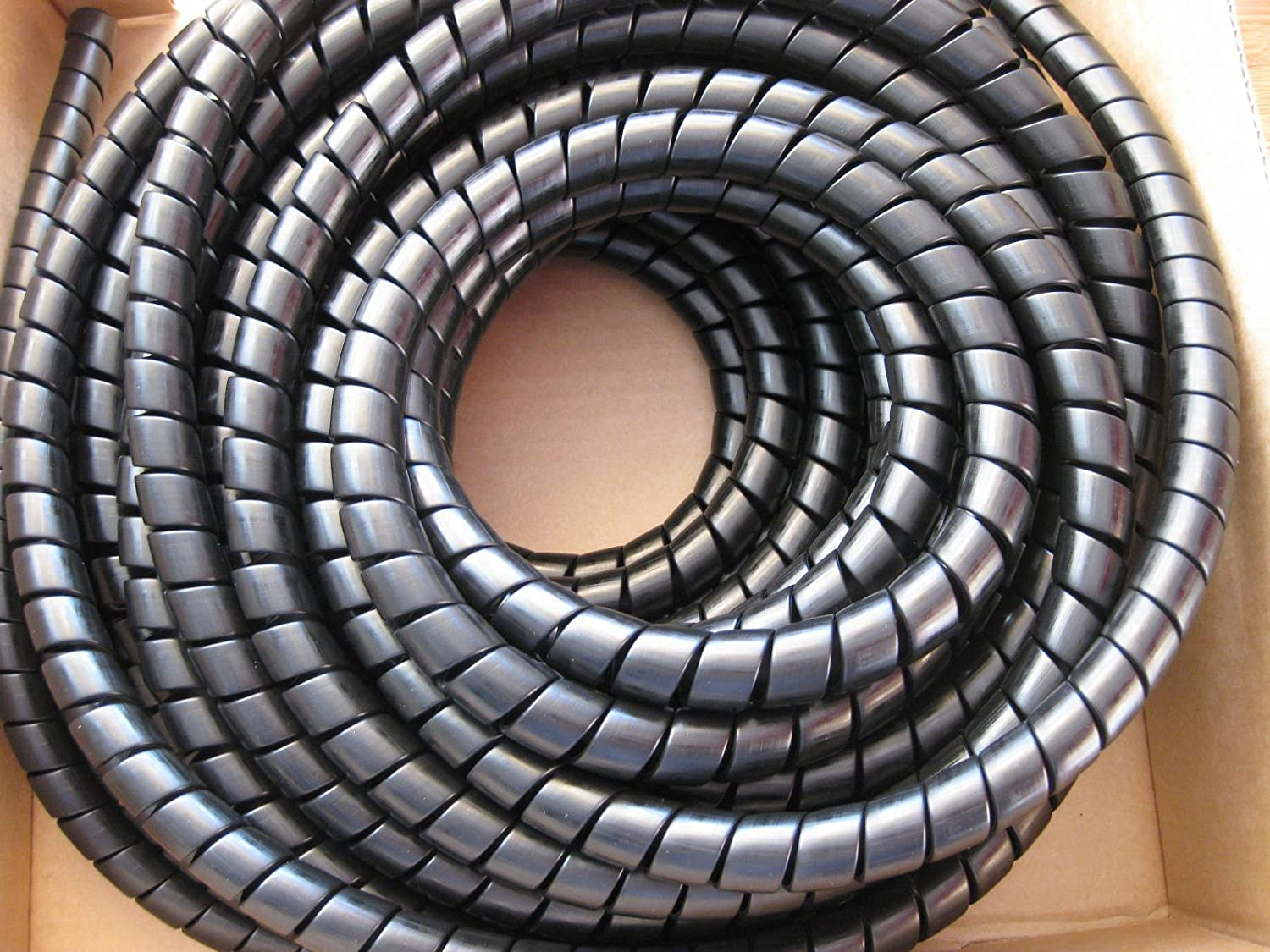Hydraulic Hose Spiral Wrap Guard Potection 30-38mm JCB Forestry Tractor digger 3 meter