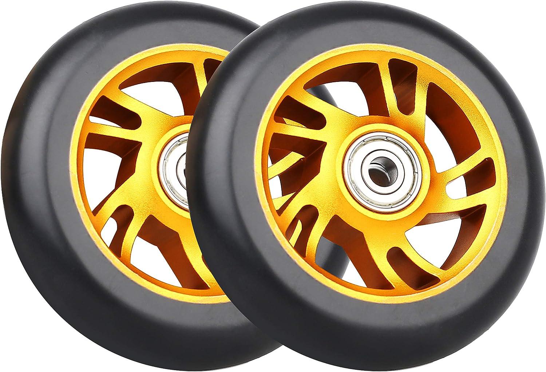 Scooter Wheel Wheels 100mm 10cm für Mini Roller Scooter Pro Räder Rad